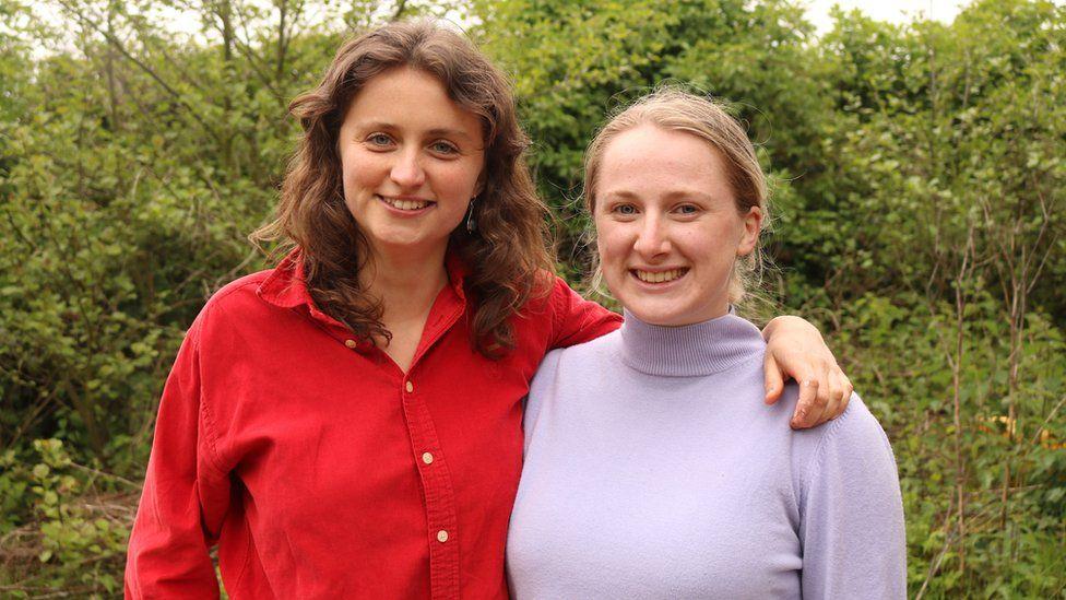 Hazel McShane and Amber Probyn