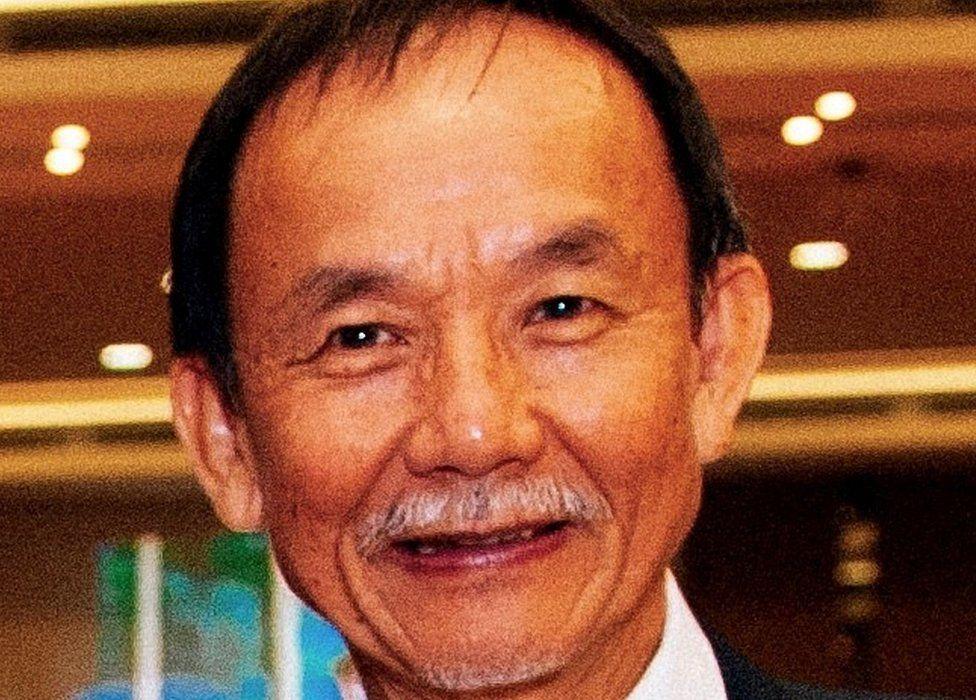 Picture of Malaysian pastor Raymond Koh