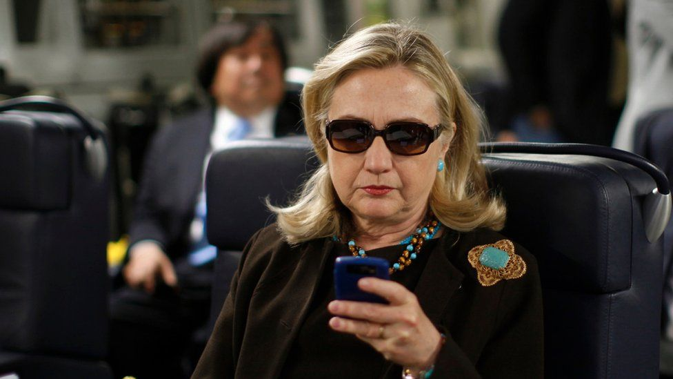 """""""I should have used two email addresses,"""" said Mrs Clinton, answering questions about the server"""