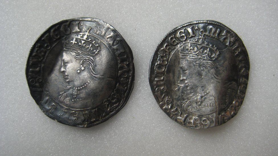 Coins of Mary I