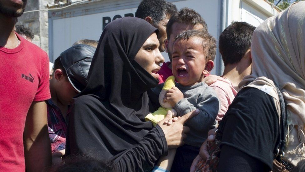 Refugees caught up in crisis