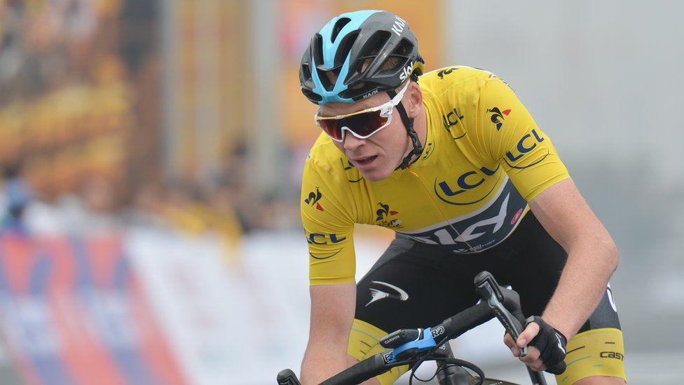 Chris has won four Tour De France's but has never passed the popularity test