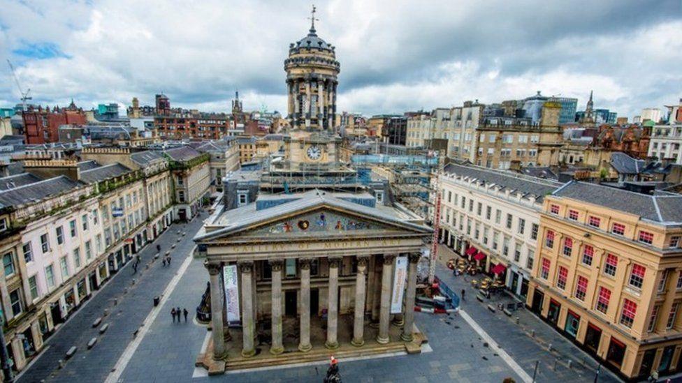 Gallery of Modern Art in Glasgow