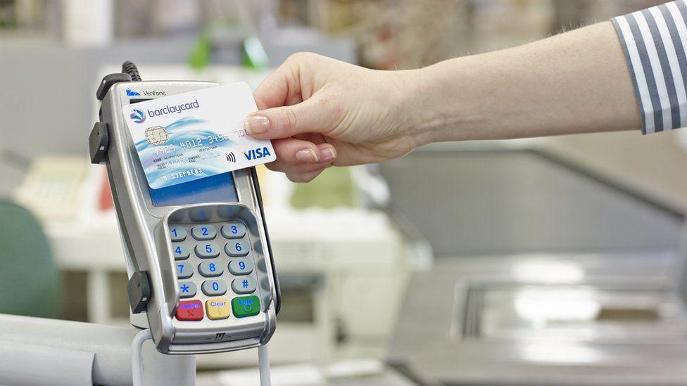 Visa cashless payment