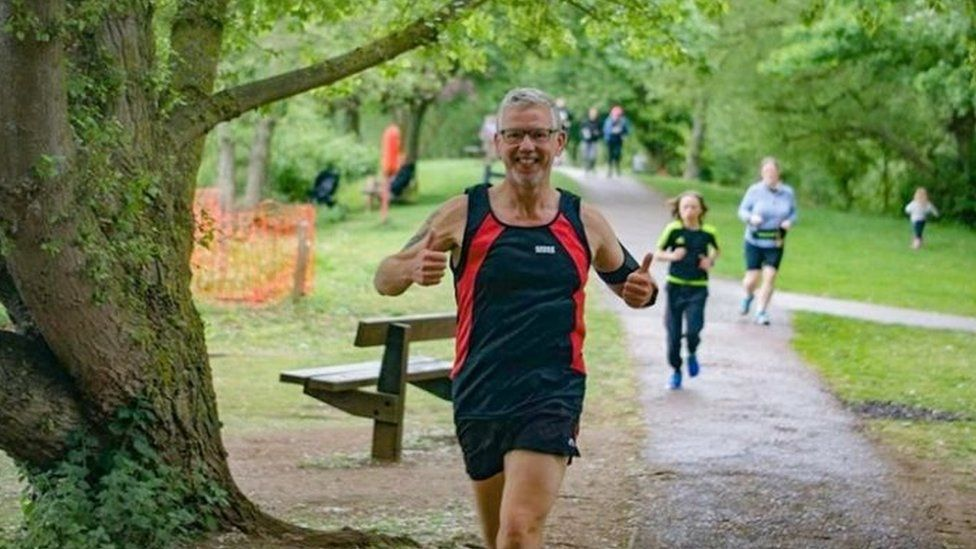 Running changed former British soldier's life