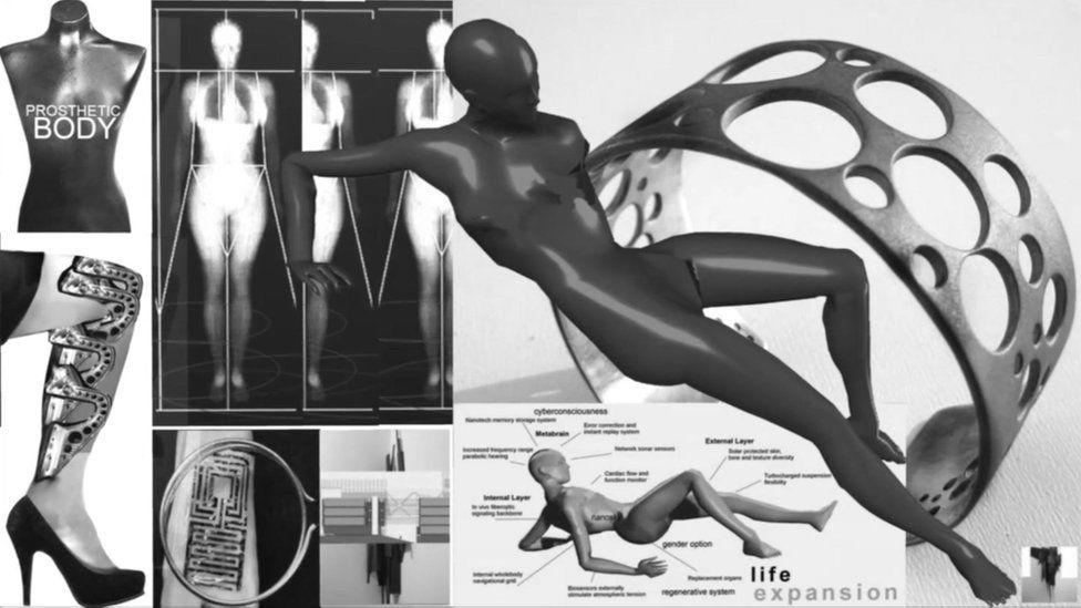 Prototype for a future human exo-skeleton
