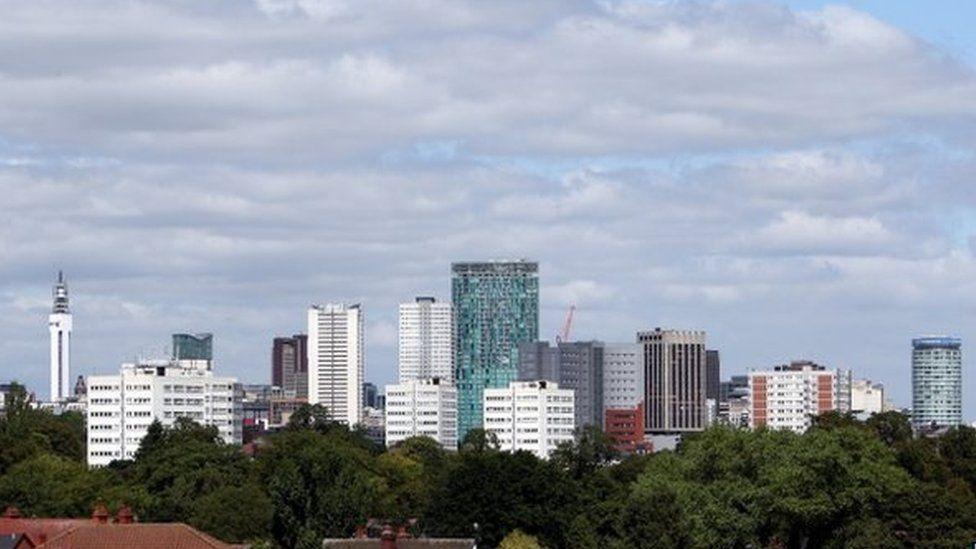 Birmingham's skyline