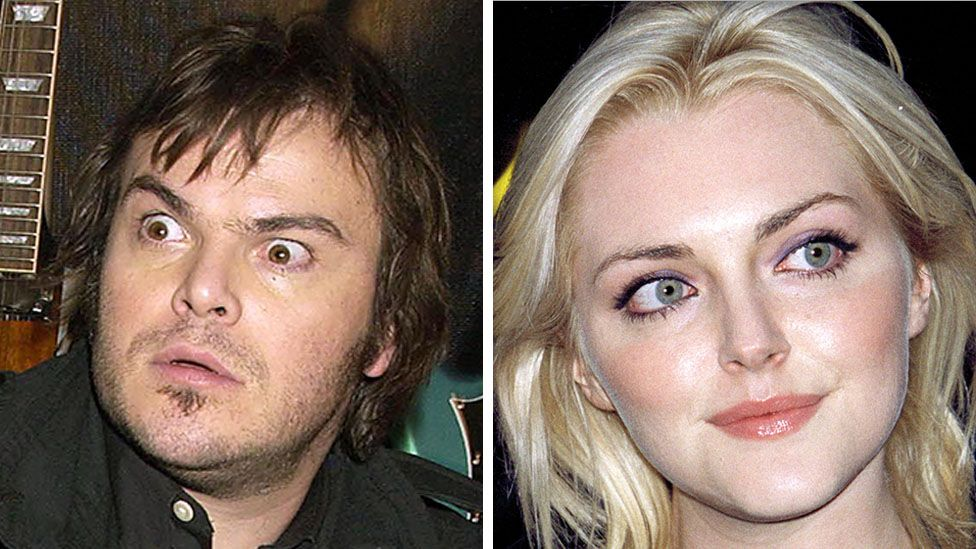 Jack Black and Sophie Dahl were big names in the 2000s