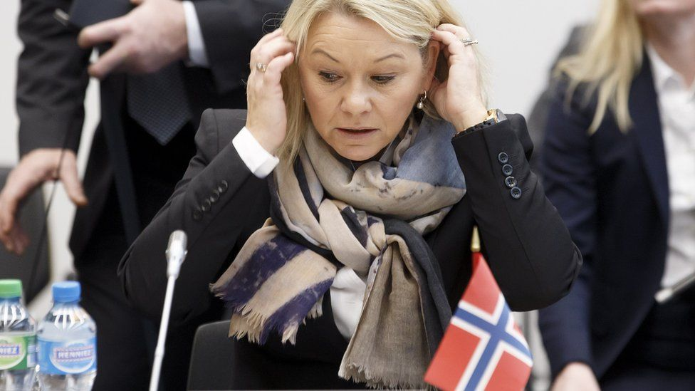 Norwegian Minister of Trade and Industry Monica Maeland