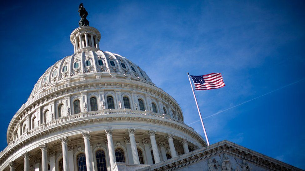 The US Capitol building, Washington DC