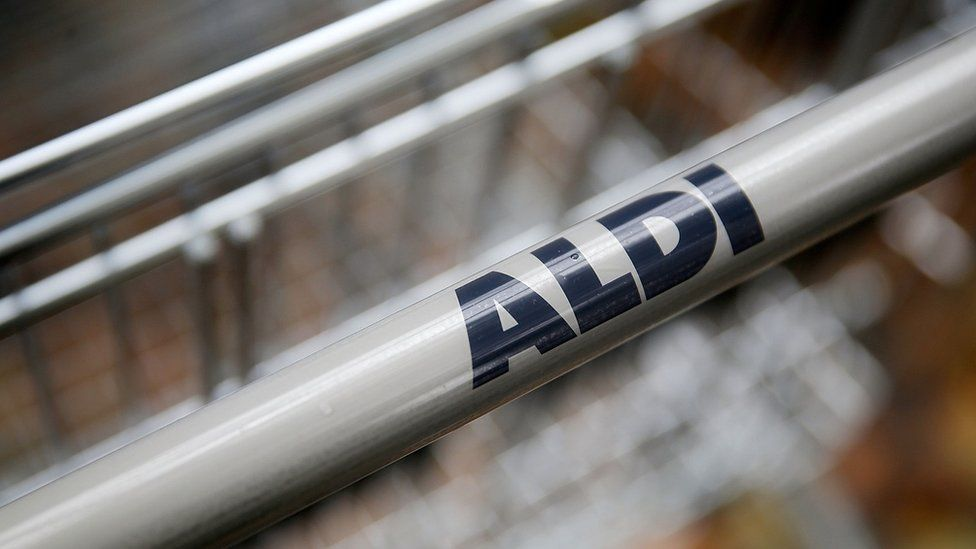 Aldi trolley handle