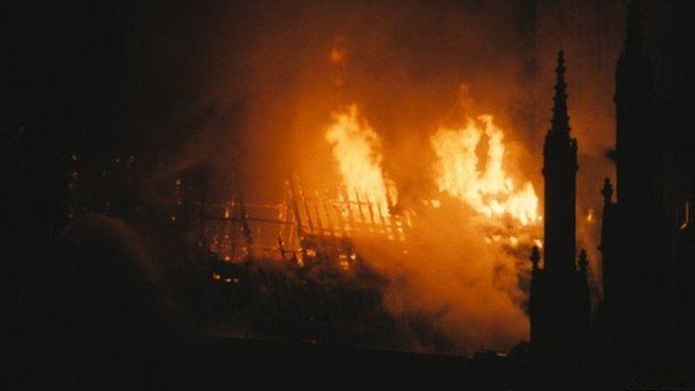 Minster fire