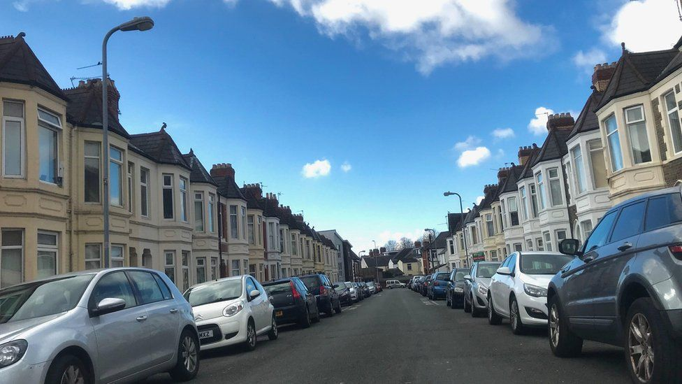 Malefant Street in Cardiff, where Carol Ann Stephens lived
