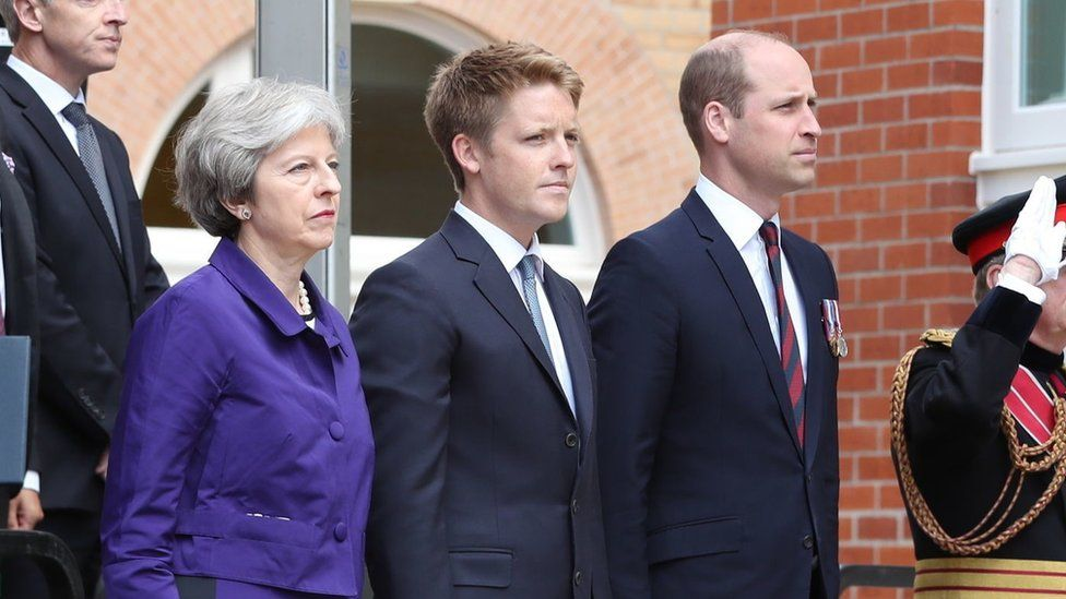 Theresa May, 7th Duke of Westminster and Prince William