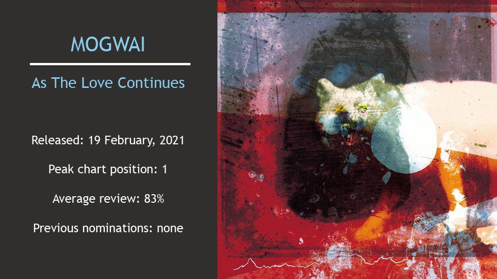 Mogwai album cover