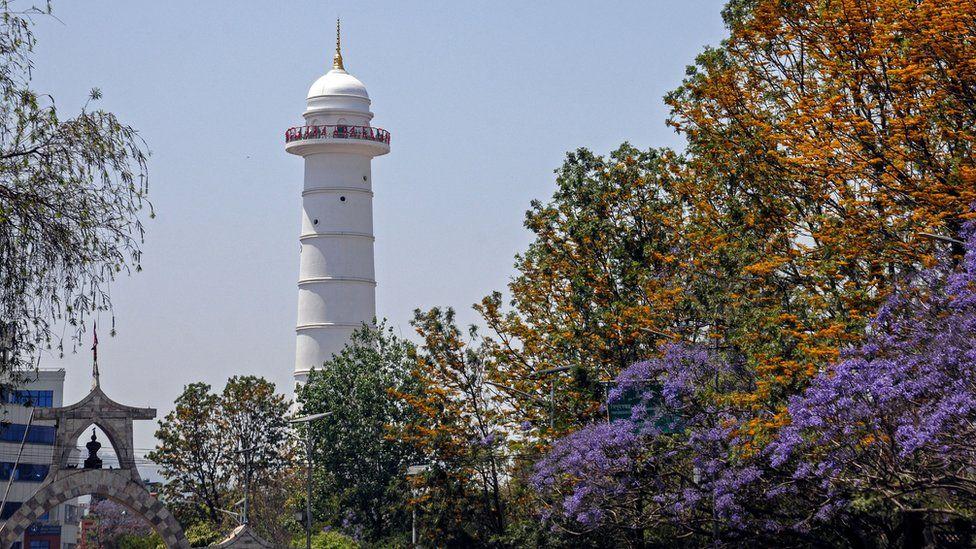 Dharahara Tower, Kathmandu, Nepal (April 2021)