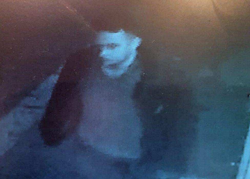 Anthony Knott - CCTV image in Market Street