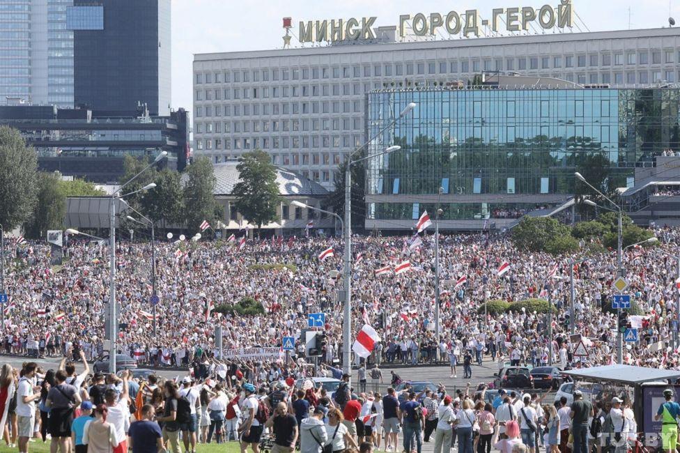 Мітинг у Мінську