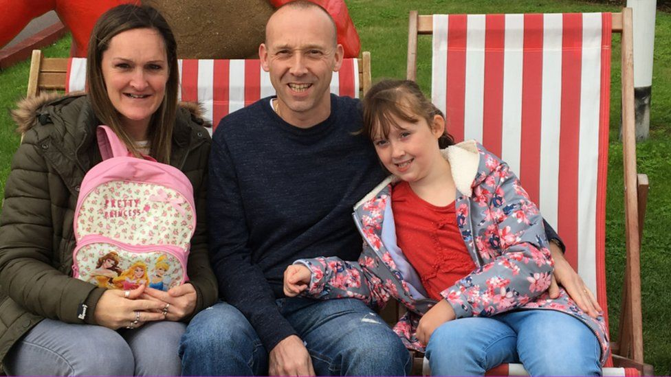 Emma, Scott and Evie Parker