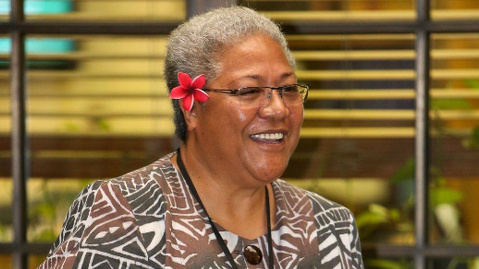Samoan Prime Minister Fiame Naomi Mata'afa