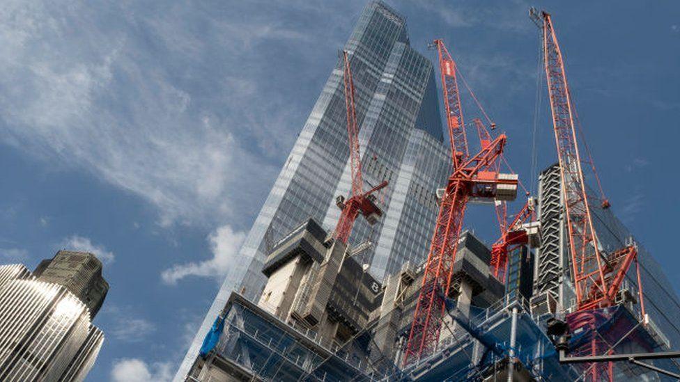 Construction project London