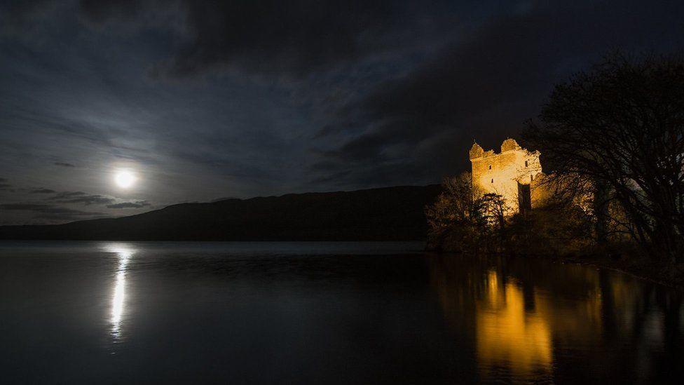 Urquhart Castle Supermoon