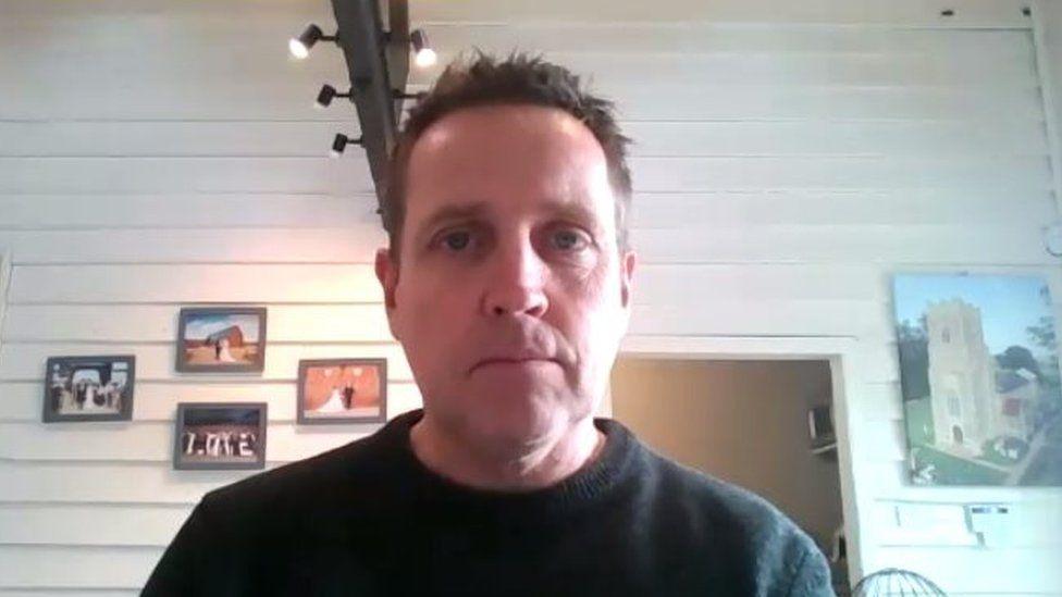 Ian Evans, owner of Copdock Hall