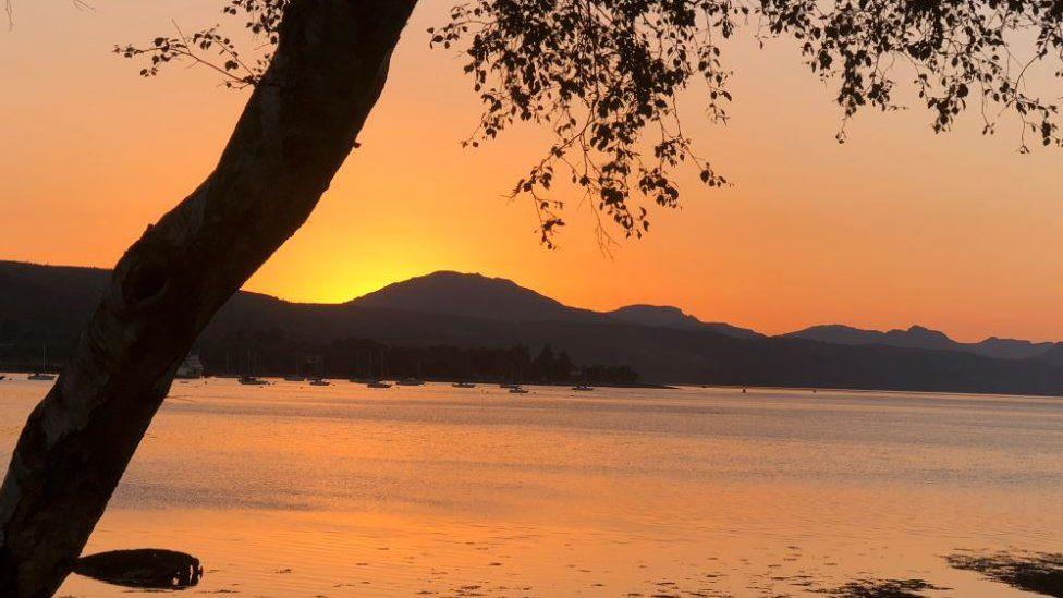 Gareloch sunset