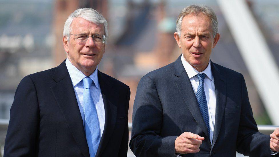 John Major a Tony Blair