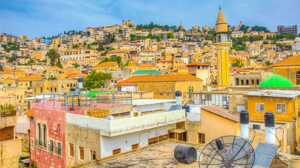 A view of Nazareth's old city