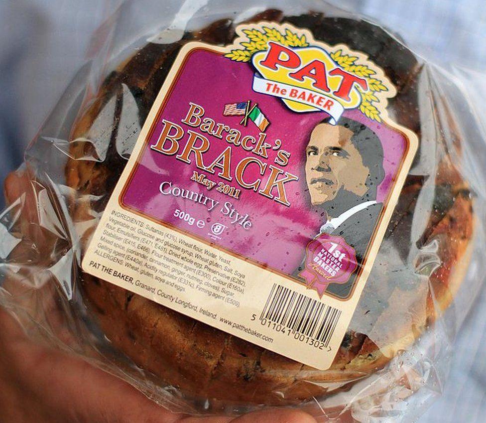 Brack bread made in the president's honour