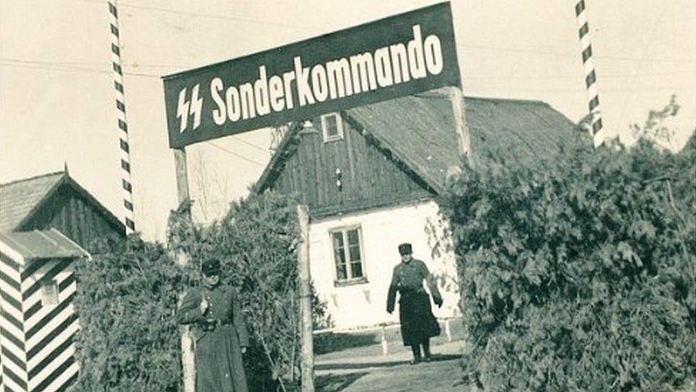 Holocaust: SS officer's photos reveal Sobibor death camp