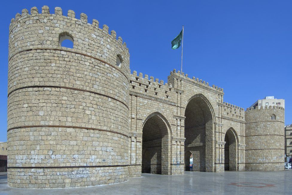 Makkah Gate in Historic Jeddah