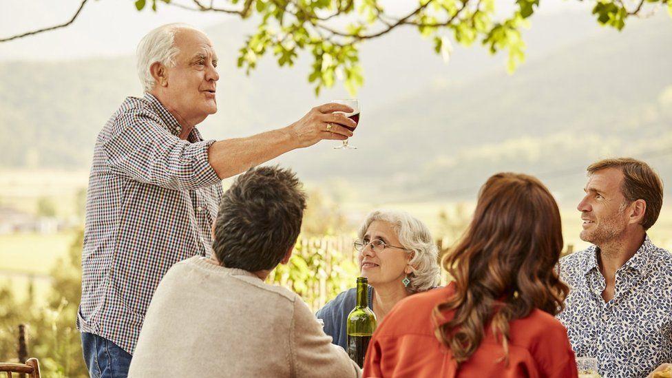 A pensioner in Spain
