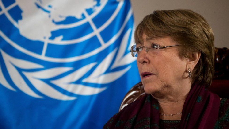 The report comes after UN rights chief Michelle Bachelet visited Venezuela