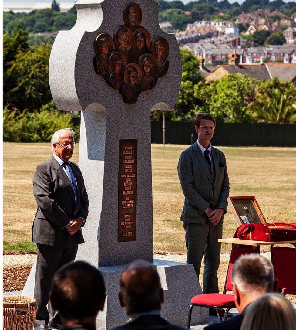 Memorial unveiling