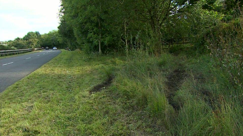 The A4119 around Penygraig