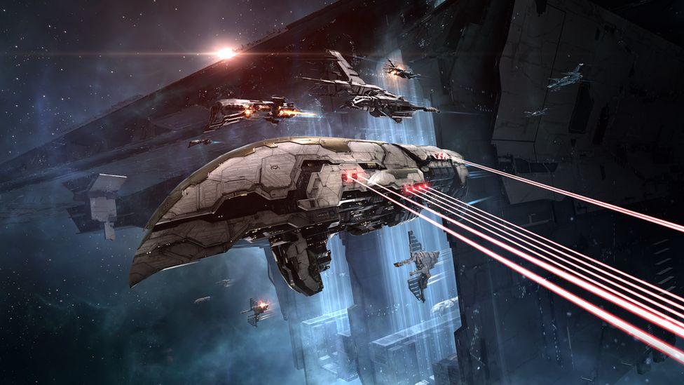 A screenshot from Eve Online