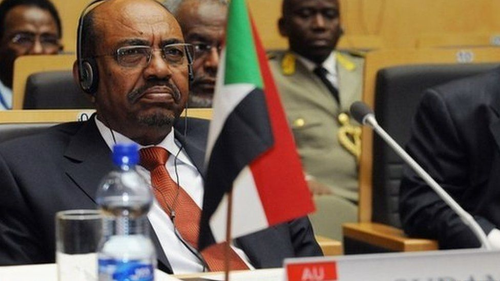 Sudan's President Omar al-Bashir attending the 20th Ordinary Session of the Assembly of the Heads of State and Government 27 January 2013