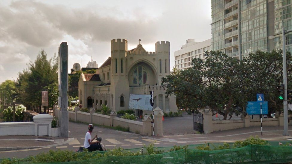 St. Andrew's Scots Kirk in Colombo