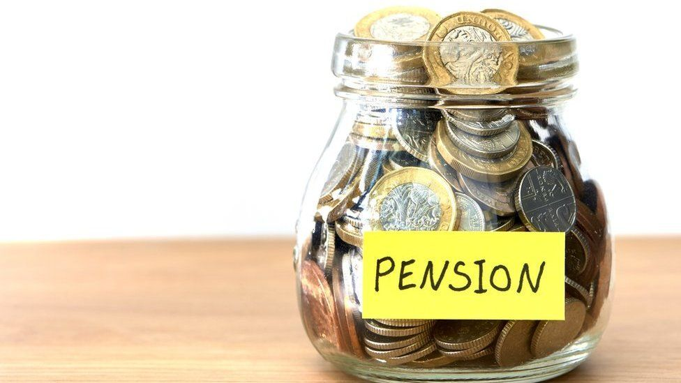Pension savings jar