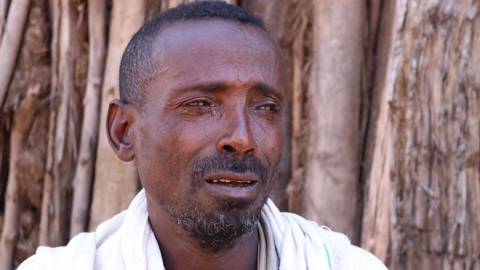 Habte Dagnew, the father of missing student Grima Habte