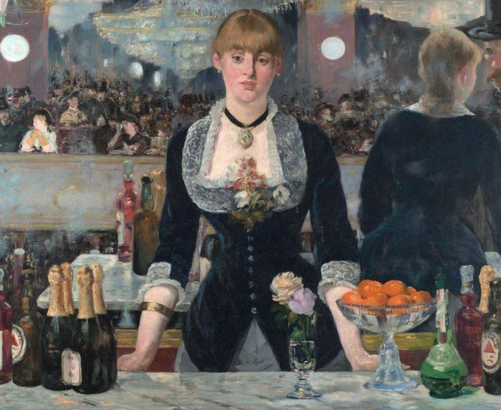 Édouard Manet's Un Bar Aux Folies-Bergère