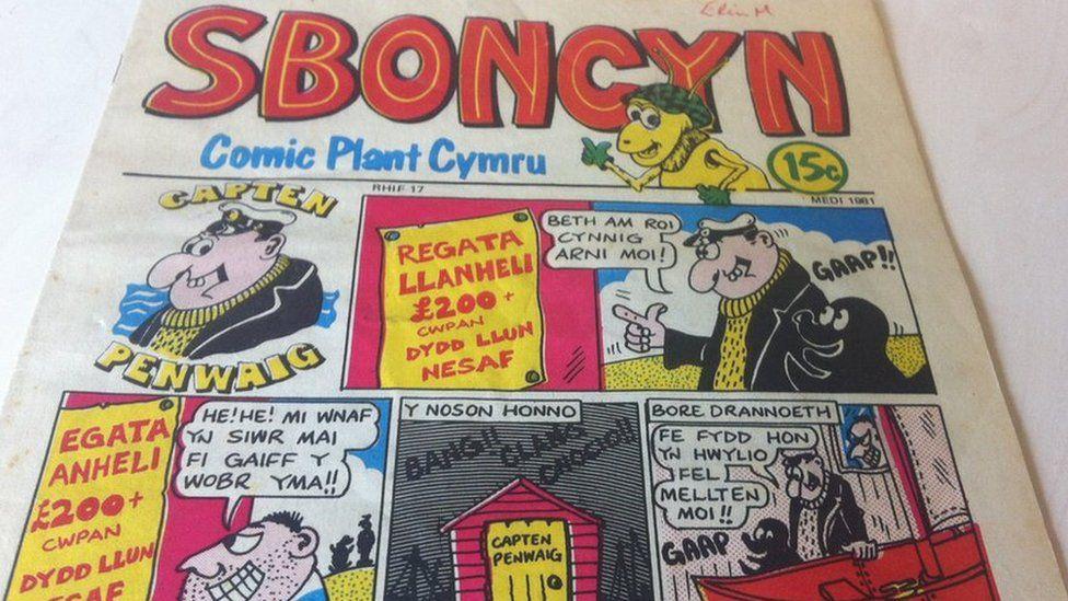 Cylchgrawn Sboncyn