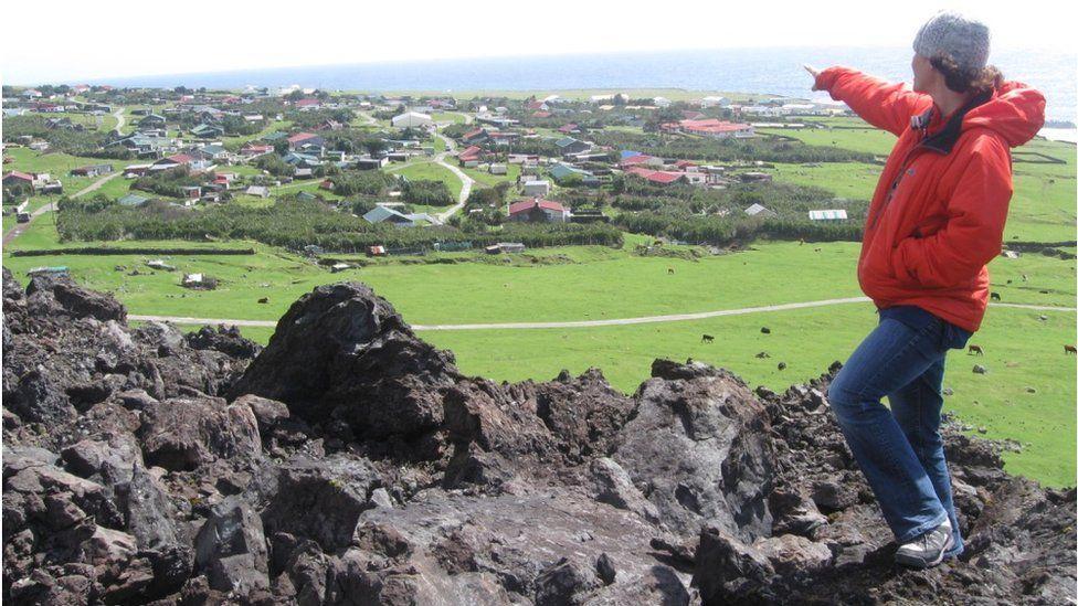 Penny Granger from volcano