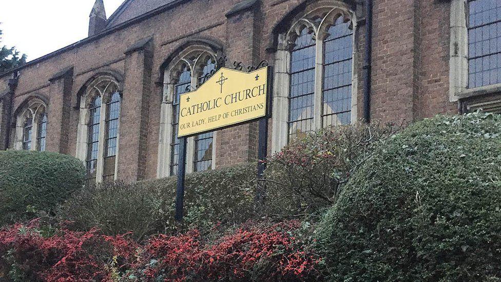 Church where skeleton was found