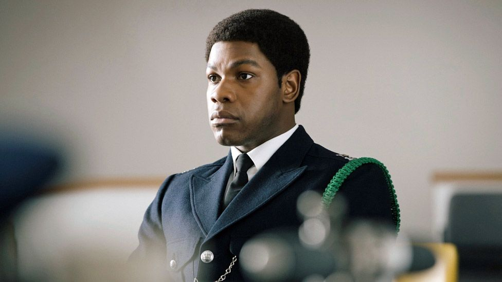 John Boyega was nominated for playing PC Leroy Logan in Small Axe