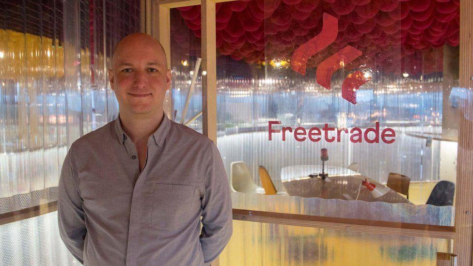 Adam Dodds, chief executive of Freetrade