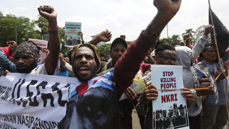Papuans demonstrate in Jakarta