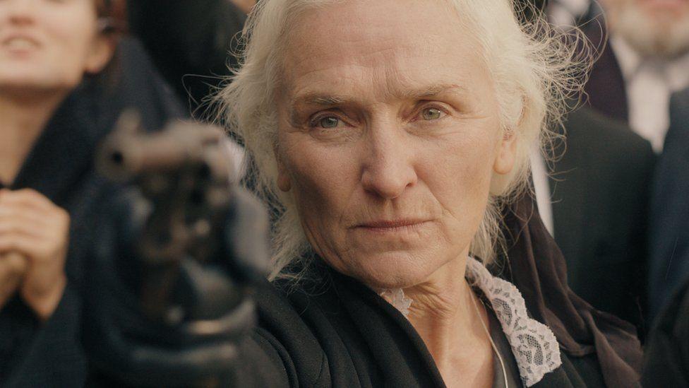 Olwen Fouéré portraying Violet Gibson